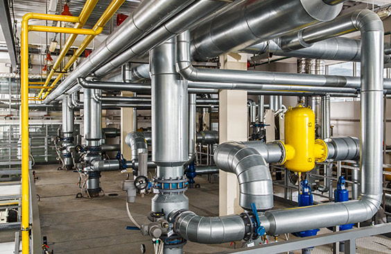 Furnace Room Pipes